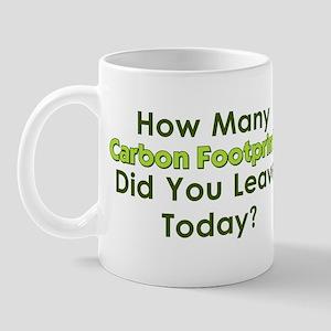 Carbon Footprints Mug