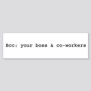 Office Politics Bumper Sticker