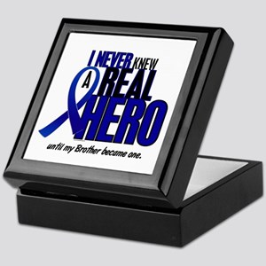 Never Knew A Hero 2 Blue (Brother) Keepsake Box