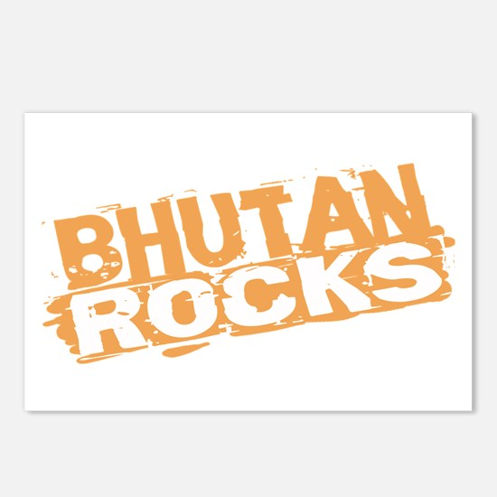 Bhutan Rocks Postcards (Package of 8)
