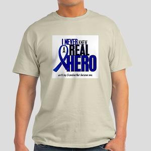 Never Knew A Hero 2 Blue (Grandmother) Light T-Shi