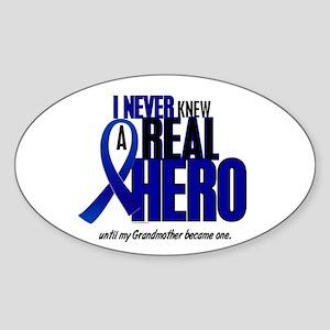 Never Knew A Hero 2 Blue (Grandmother) Sticker (Ov