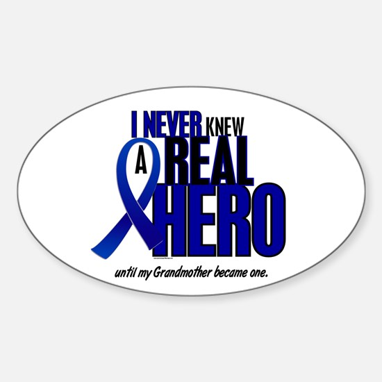 Never Knew A Hero 2 Blue (Grandmother) Decal