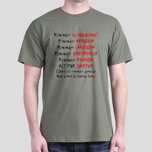 Activist, Anti-Genocide Dark T-Shirt