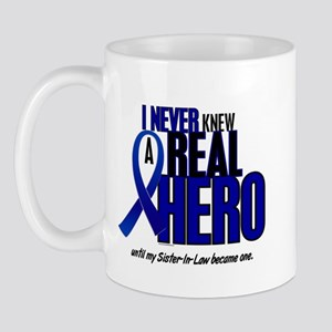 Never Knew A Hero 2 Blue (Sister-In-Law) Mug