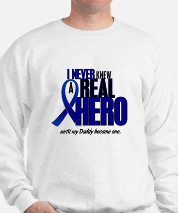 Never Knew A Hero 2 Blue (Daddy) Sweatshirt