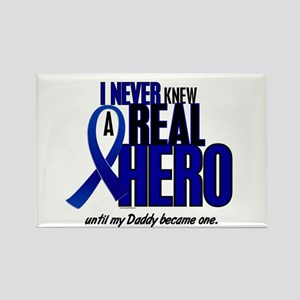 Never Knew A Hero 2 Blue (Daddy) Rectangle Magnet