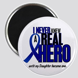 Never Knew A Hero 2 Blue (Daughter) Magnet