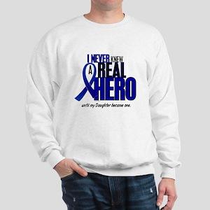 Never Knew A Hero 2 Blue (Daughter) Sweatshirt