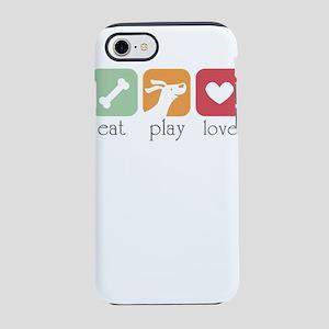 eat play love iPhone 8/7 Tough Case