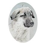 Anatolian Shepherd Oval Ornament