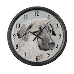 Anatolian Shepherd Large Wall Clock