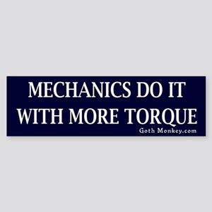 Mechanics Bumper Sticker