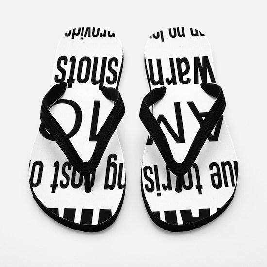 Cute Gun rights Flip Flops