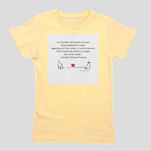 Red Thread Proverb Women's Light T-Shirt
