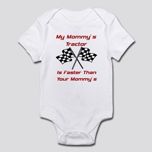 Mommys Tractor Is Fast Infant Bodysuit