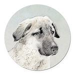 Anatolian Shepherd Round Car Magnet