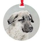 Anatolian Shepherd Round Ornament