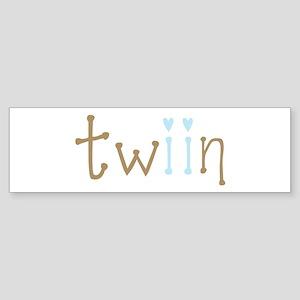 Twin Boys Twiin Bumper Sticker