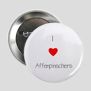 I Love Affenpinschers Button