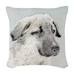 Anatolian Shepherd Woven Throw Pillow