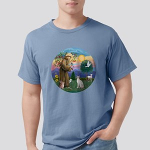 St Francis - Siamese Cat (Lilac Pt) T-Shirt