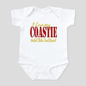 Love my Coastie Infant Bodysuit