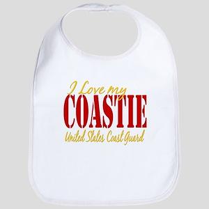Love my Coastie Bib