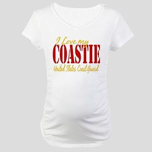 Love my Coastie Maternity T-Shirt