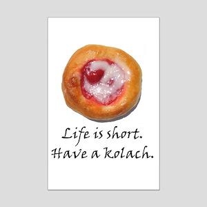 Czech Pride Kolach Mini Poster Print