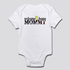 Flag: Welcome Home Mommy Infant Bodysuit