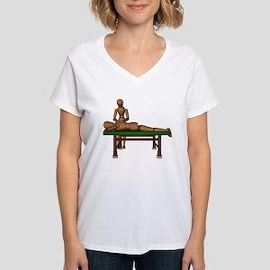 Massage Women's V-Neck T-Shirt