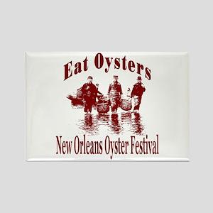 New Orleans Oyster Festival Rectangle Magnet
