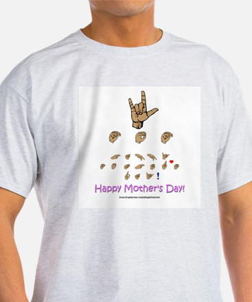 ASL Mother's Day T-Shirt