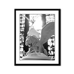 Winged Lion and Dragons Framed Print
