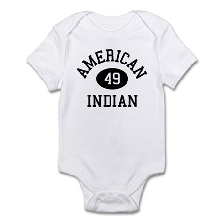 Retro American Indian Infant Bodysuit