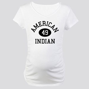 Retro American Indian Maternity T-Shirt