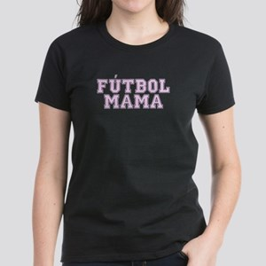 Futbol Mama women's dark t-shirt