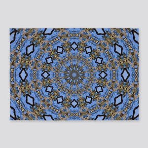 Kaleidoscope Tree 5'x7'Area Rug
