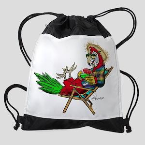 Parrot Beach Chair Drawstring Bag