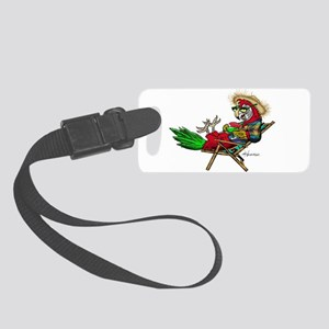 Parrot Beach Chair Small Luggage Tag