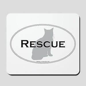 Rescue Cat Mousepad