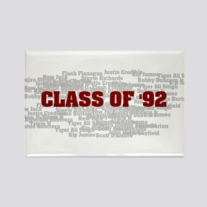 Class Of 92 Rectangle Magnet