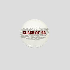 Class Of 92 Mini Button