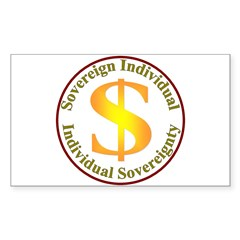 IS-SI Rectangle Sticker 50 pk)