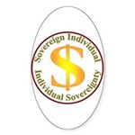 IS-SI Oval Sticker (10 pk)