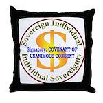 IS-CUC Throw Pillow