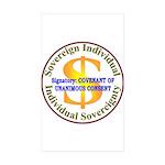 IS-CUC Rectangle Sticker 10 pk)