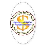 IS-CUC Oval Sticker