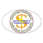 IS-CUC Oval Sticker (10 pk)